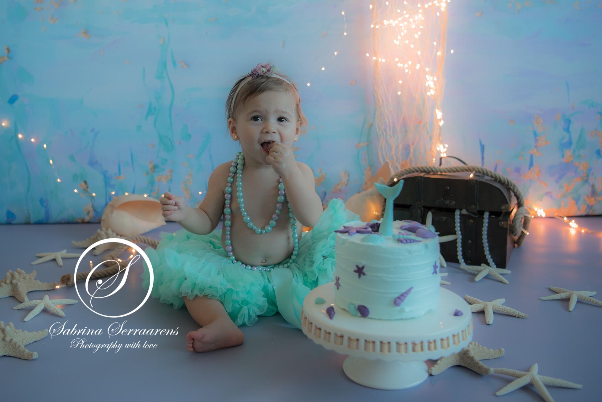 mermaid cakesmash